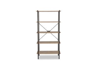 ABDIEL - 5 Tier Bookcase