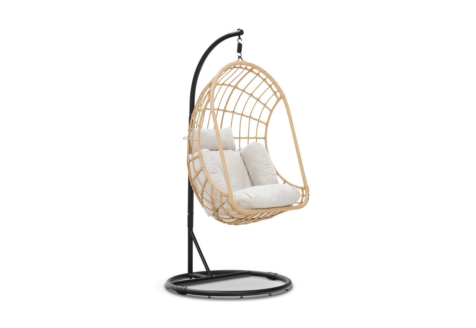 Outdoor Hanging Chair Sanibel Outdoor Hanging Chair Amart Furniture