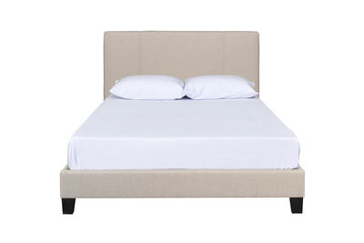 HENRY - Beige Double Bed