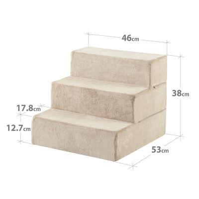 HATTIE - 3 Step Pet Stairs Small-Medium