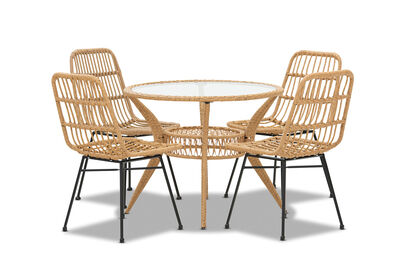 AMARILLO - 5 Piece Outdoor Dining Setting