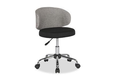 HANNAH - Black/Grey Office Chair