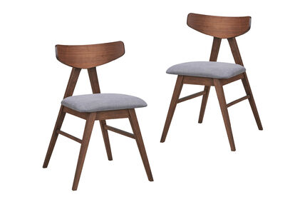 SALFORD - Set of 2 Dining Chairs
