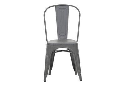 ROCKET - Dining Chair in Antique Gunmetal Finish