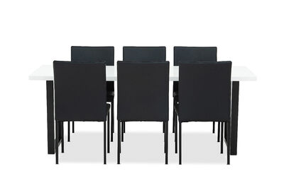 GLACIAL - 7 Piece Dining Suite