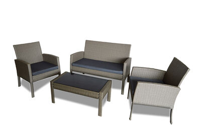 ACASTA - 4 Piece Outdoor Lounge Setting