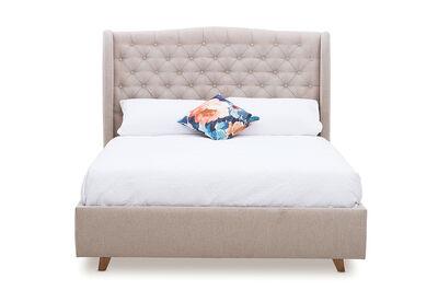 ARAGON - Fabric King Bed