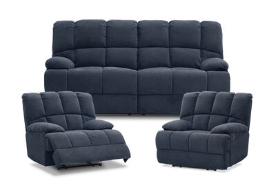 SPARTACUS - Fabric Recliner Suite