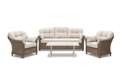 MIAMI - 4 Piece Outdoor Lounge Setting