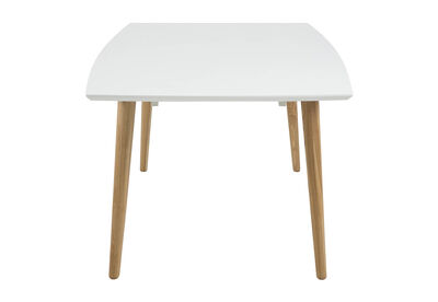 COLLINS - White 1600 Dining Table