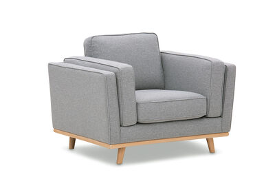 LORAS - Fabric Accent Chair