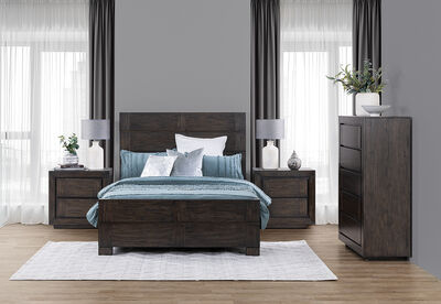 LANTANA - 4 Piece Queen Bedroom Suite
