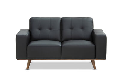 DIAZ - Leather 2 Seater