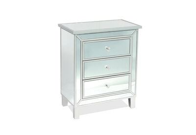 BLEINHAM - 3 Drawer Bedside