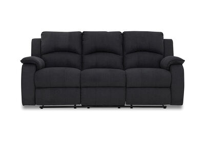 SALOON - Fabric 3 Seater with 2 Inbuilt Recliners