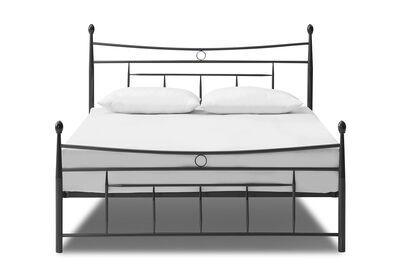 CARTWRIGHT - Black Queen Bed