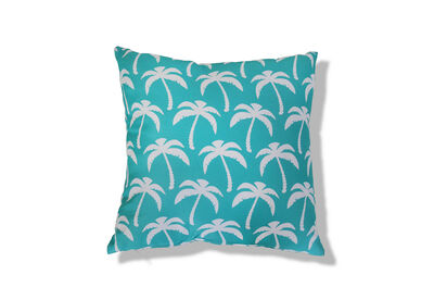 SOLANO - Turquoise Palms Outdoor Cushion