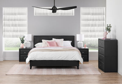 BARDOT MK2 - 4 Piece Queen Bedroom Suite