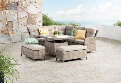 AQUATA - Outdoor Lounge Dining Setting