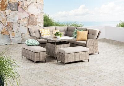AQUATA - Outdoor Lounge Dining Setting