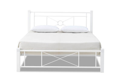BROMLEY - White Queen Bed