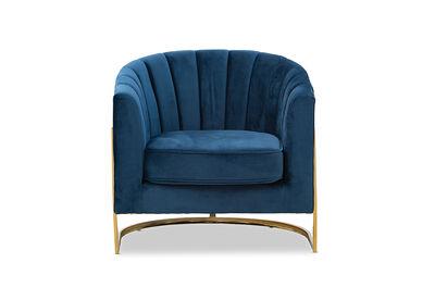 TESSIE - Velvet Accent Chair
