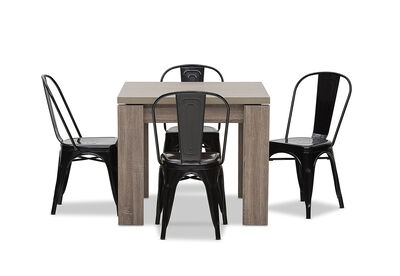 MAJESTY - 5 Piece Dining Suite with Rocket Dining Chairs