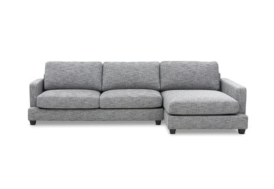 ARIANNA - Fabric Right-Hand Facing 3 Seater Chaise