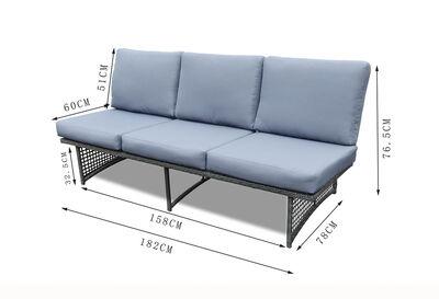 AZALEA - 3 Seater Outdoor Lounge