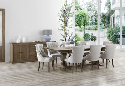 LA SALLE MK3 - 9 Piece Dining Suite