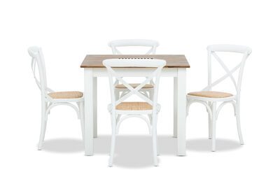 KOTA - 5 Piece Dining Suite with Bordeaux Dining Chairs