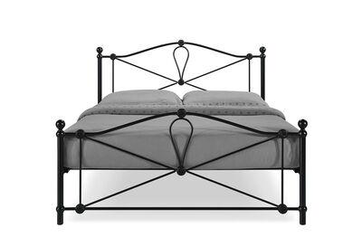 SANTA ISABEL - Matte Black Queen Bed