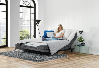 PURE FORM TRANQUILLITY - Queen Motion Bed Package