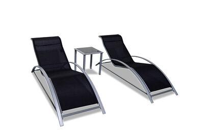 MESA - 3 Piece Sun Lounge Setting