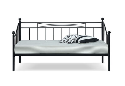 SAN ANTONIO - Black Day Bed with Trundle