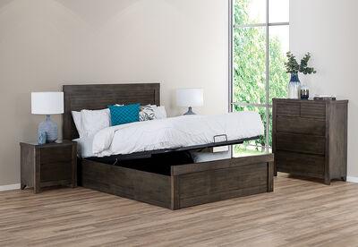 VIKA - 4 Piece Queen Bedroom Suite