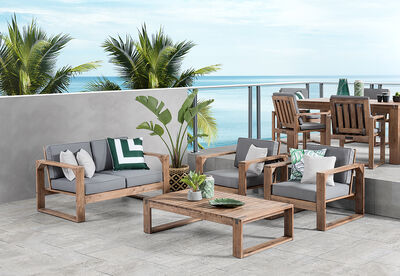 SHADOW2 - 4 Piece Outdoor Lounge Setting