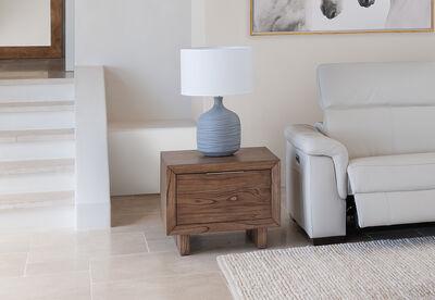 SORVINO - 1 Drawer Lamp Table