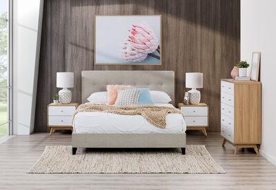 SOPHIE MK2 - 4pce Queen Bedroom Suite