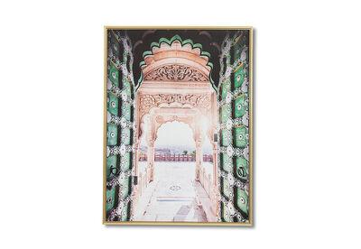 MOROCCO DOOR - Wall Art 90 x 120cm