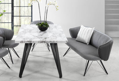 AIGLE - Light Grey Bench Seat