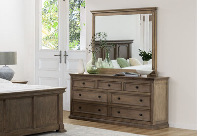 LA SALLE - Dresser with Mirror