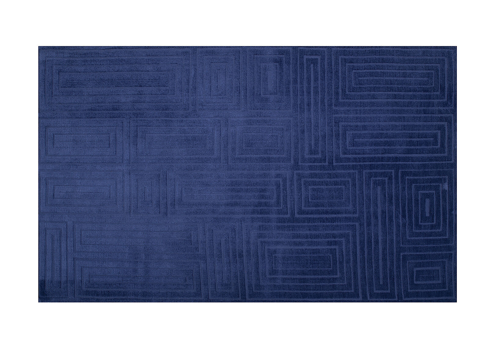 Navy Maze 180 X 270cm Polyester Floor Rug Amart Furniture