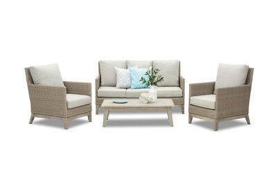 COOLABAH - 4 Piece Outdoor Lounge Setting