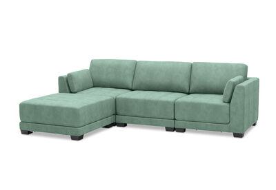 ELEANOR - Fabric 4 Piece Lounge Setting