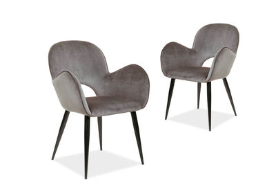 CATALONIA - Set of 2 Dining Chairs
