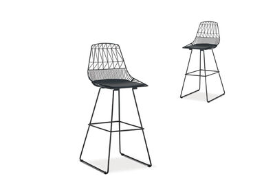 YARROW - Set of 2 Bar Stools