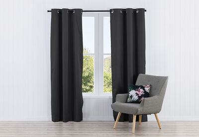 ALLEGRA - Jacquard Eyelet - Block Out Curtain 120 x 223cm