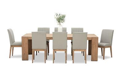 ROMULUS - 9 Piece Dining Suite