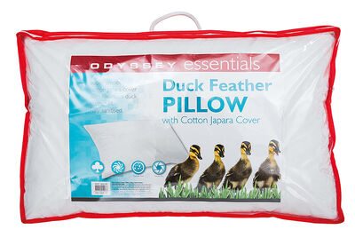 ODYSSEY ESSENTIALS - Duck Feather Pillow